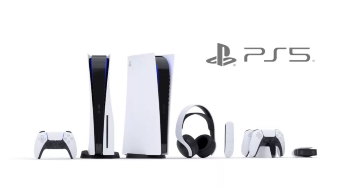 Playstation 5 with it's released accessories